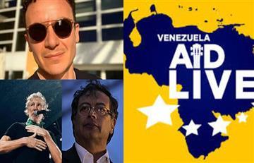 Hasta Petro criticó a los artistas colombianos que participarán en el concierto por Venezuela