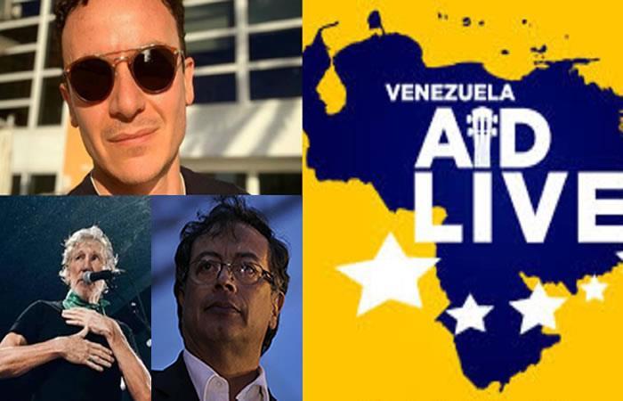 Hasta Petro criticó a artistas colombianos del 'Venezuela Aid Live'. Foto: Twitter