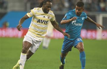 Con Barrios de titular, Zenit clasificó a octavos de la Europa League