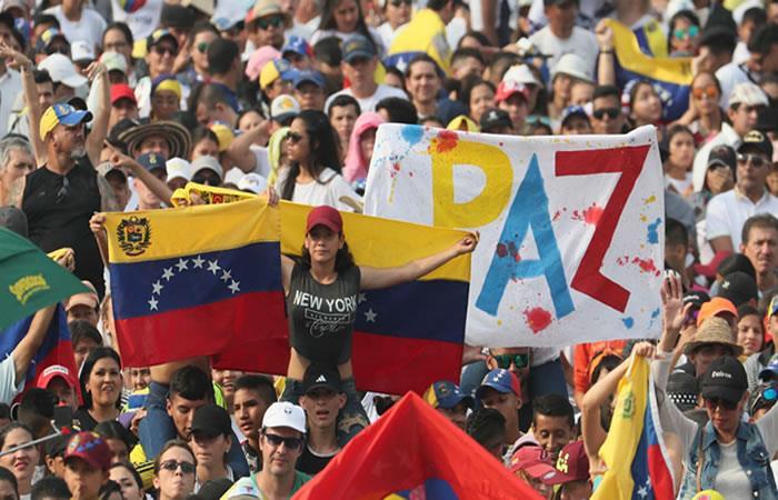 Así cerró el 'Venezuela Aid Live'