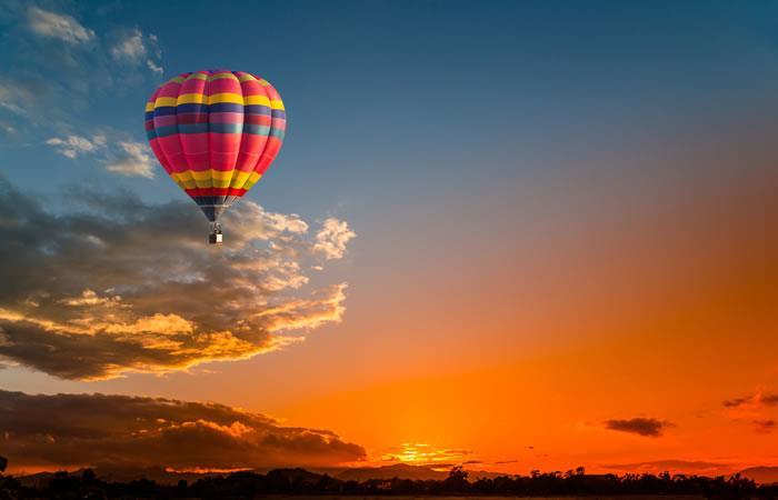 Viaje en globo. Foto: Shutterstock.