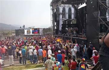 ¿Qué pasó con los artistas y gente convocados al concierto del chavismo en la frontera?