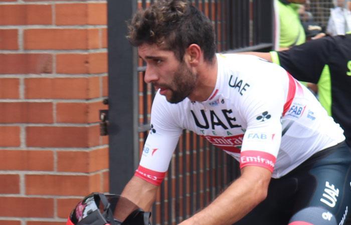 Fernando Gaviria en el Tour Colombia 2.1. Foto: Interlatin
