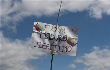 ¡No va más! Nicolás Maduro rompe relaciones con Colombia tras ayuda humanitaria