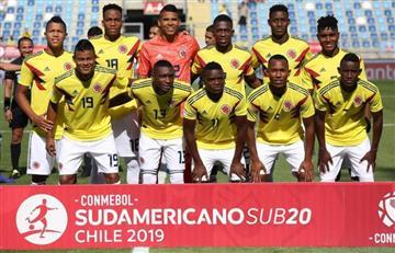 Colombia repite 2 rivales de Rusia-2018 en el Mundial Sub-20