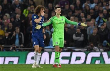 Arquero de Chelsea que se negó a ser reemplazado conmocionó al mundo del fútbol