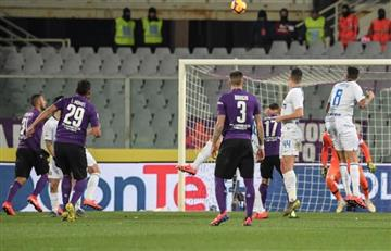 ¿Ya viste el golazo de Luis Muriel, de tiro libre, contra Inter?