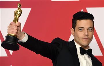 En su discurso, Rami Malek le dedica unas tiernas palabras a su novia Lucy Boynton