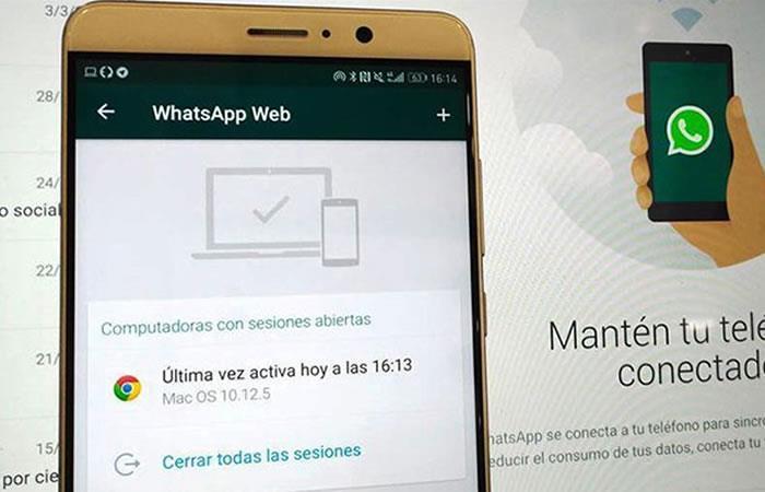 Optimiza el tiempo de trabajo en tu oficina con el WhatsApp Web. Foto: Twitter