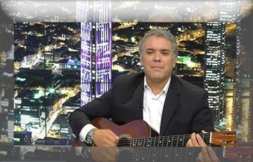 Pedrito Rico, el cantante español que es 'igualito' al presidente Iván Duque