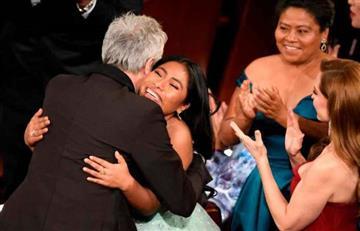 Lo que dejaron los Oscars: Juan Gabriel estuvo presente en la fiesta de 'Roma'