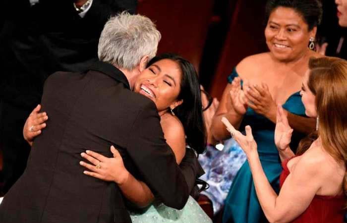 Juan Gabriel estuvo presente en la fiesta de 'Roma' luego de los Oscars