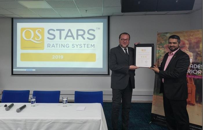 QS Stars: Areandina, única universidad certificada por inclusión en Latinoamérica