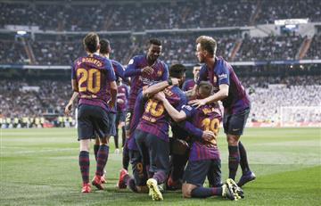 Barcelona 'humilló' a Real Madrid en la semifinal de la Copa del Rey