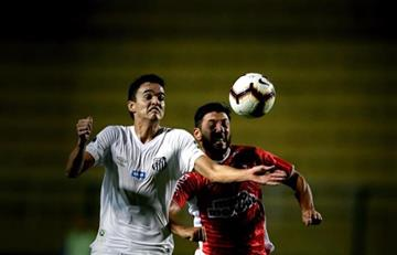 [VIDEO] Así quedo eliminado el Santos de Felipe Aguilar y Copete en Sudamericana