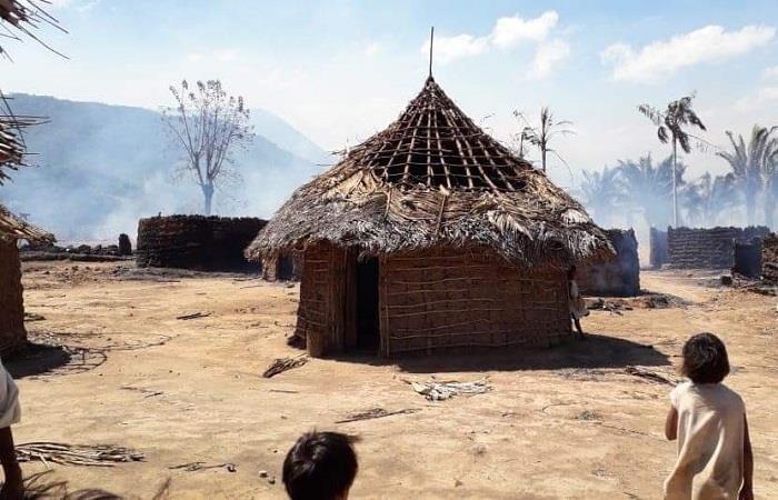 La emergencia ha afectado a dos comunidades indígenas en la zona. Foto: Twitter