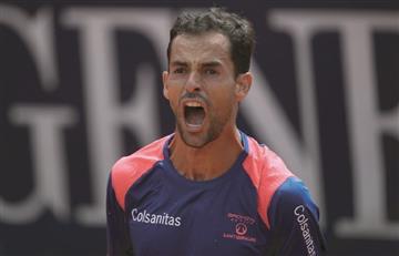 Santiago Giraldo se clasificó a los octavos de final del Challenger de Indian Wells [VIDEO]