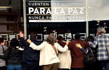 """Con """"abrazo"""" a la JEP, colombianos pidieron que se reglamente la Justicia por la Paz"""