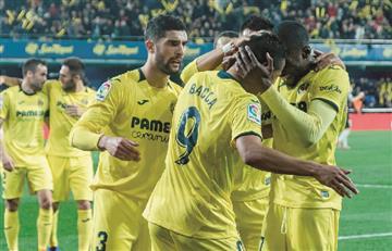 Carlos Bacca fue titular en la derrota de Villareal ante Alavés