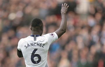 [VIDEO] Davinson Sánchez fue protagonista en el empate entre Tottenham y Arsenal