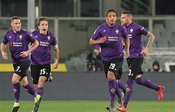 Muriel hizo gol, pero Zapata ganó el partido entre colombianos, en Italia