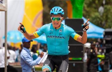 Colombiano ganó última etapa del Tour de Ruanda