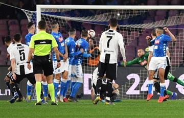 David Ospina terminó atajando ante Juventus y no pudo evitar caída de Nápoles
