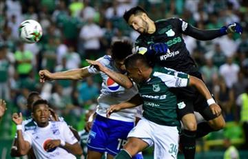 [VIDEO] Camilo Vargas se la volvió a hacer a Millonarios con gol en la última jugada