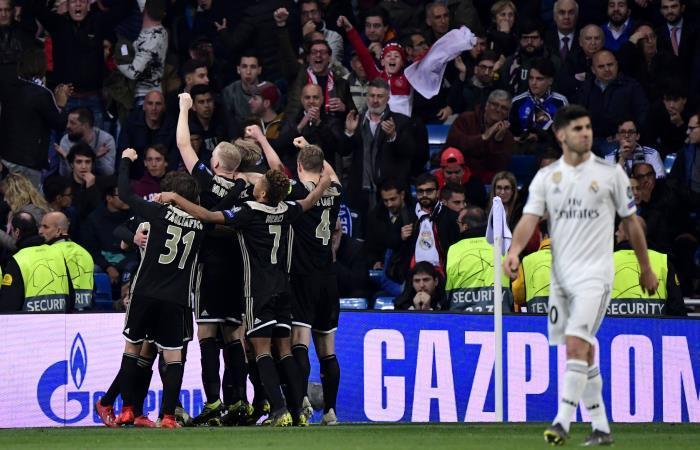Champions League: Real Madrid es eliminado por Ajax