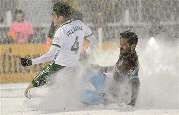 [FOTOS Y VIDEO] Así fue el partido más frío en la historia de la MLS