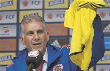 La sorpresa de Queiroz en la convocatoria de la Selección Colombia
