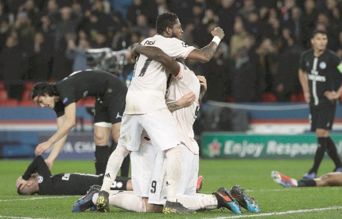 Champions League: Manchester United eliminó al PSG en octavos de final [VIDEO]