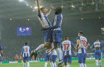 [VIDEO] Porto clasificó a octavos de final en un partido de infarto ante Roma