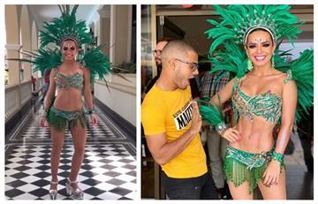 Así fue como deslumbraron las famosas en el Carnaval de Barranquilla