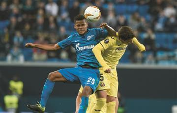 El Villareal de Bacca le ganó el pulso al Zenit de Barrios en la Europa League