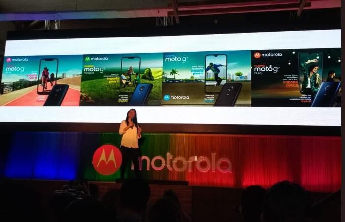 ¡Lanzamiento en Bogotá de la línea Motorola G7!