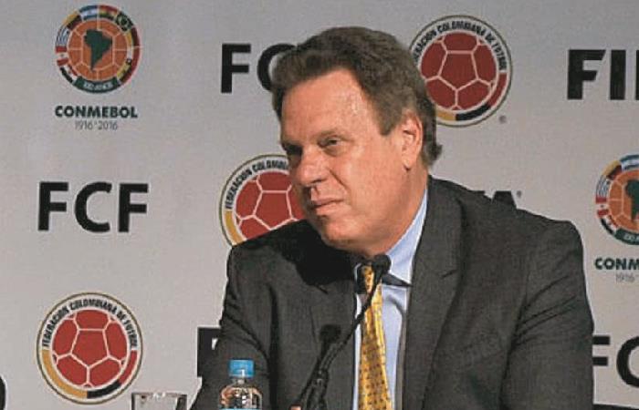 Ramón Jesurún y su postura sobre la liga femenina. Foto: AFP