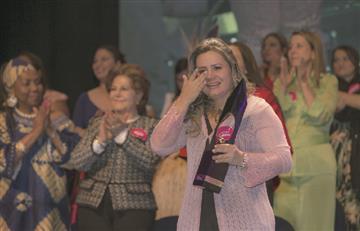 Ludirlena Pérez ganó el premio Cafam a la Mujer 2019