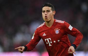 [VIDEO] Así fue el golazo de James en la victoria de Bayern