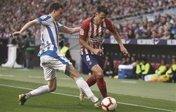 Santiago Arias fue titular en la victoria de Atlético de Madrid