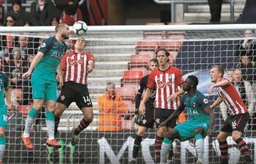 ¡Increíble! Southampton remontó al Tottenham de Davinson Sánchez