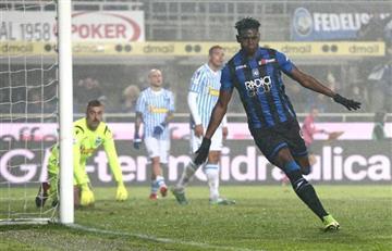¡Volvió al gol! Duván Zapata celebra después de 4 partidos