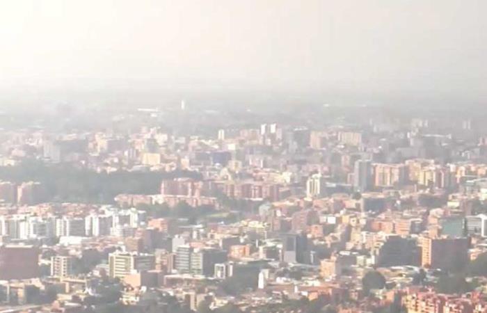 La calidad del aire en Bogotá preocupa a los expertos. Foto: Twitter