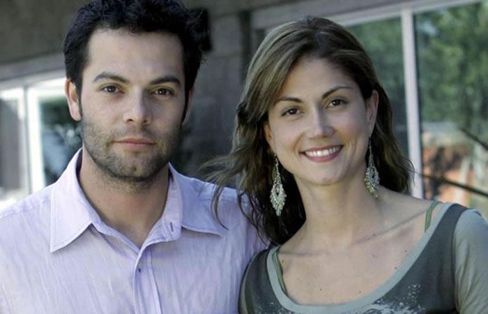Ivan Lalinde y Lina Marulanda eran grandes amigos. Foto: Twitter.