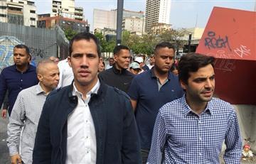 Guaidó convocó a manifestaciones por apagones en Venezuela
