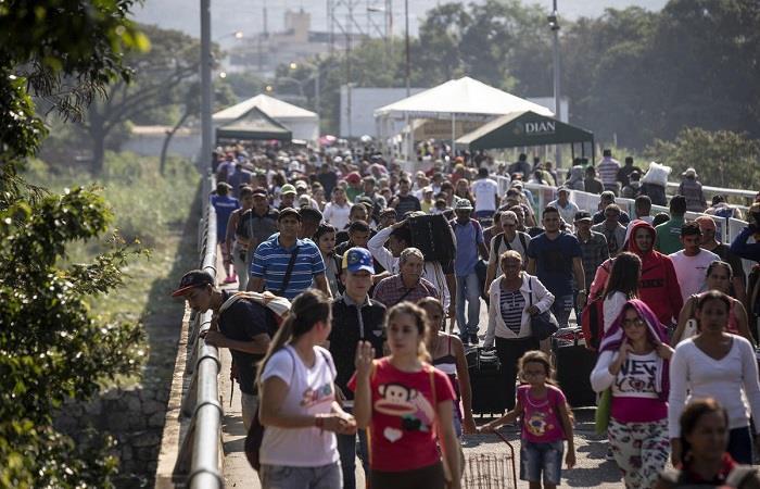 Más de 5 mil venezolanos ingresaron a Colombia en las últimas horas