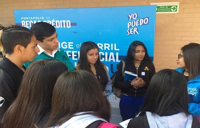 Este proyecto ha beneficiado a más de 17 mil jóvenes en Bogotá. Foto: Twitter
