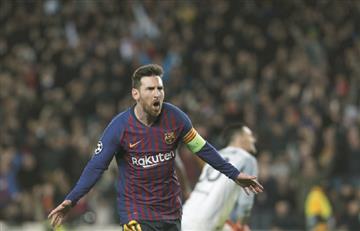 Barcelona golea a Lyon y se clasifica a cuartos