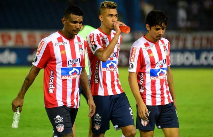 Junior no pudo ante San Lorenzo. Foto: AFP