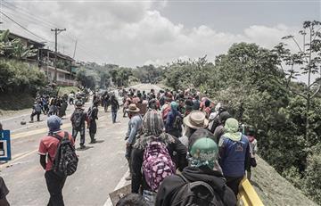 No paran los bloqueos en la vía Panamericana, al sur del país